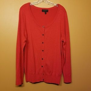 Lane Bryant Sweaters - Lane Bryant | Red Cardigan Sweater (Size 14/16)